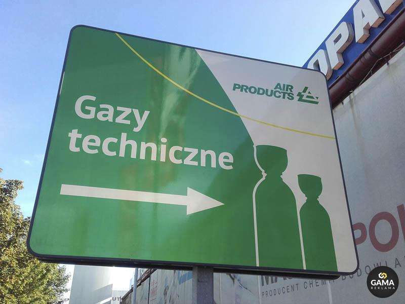 Gama_Reklama_tablica_odblaskowa